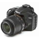 Housse de protection easyCover Nikon D3200 Noir