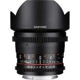 Objectif Samyang 10mm VDSLR T3.1 NCS CS MKII pour Sony E