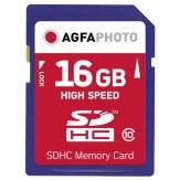 Carte de mémoire AgfaPhoto SDHC 16GB Classe 10 MLC