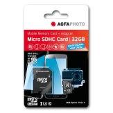 Carte mémoire AgfaPhoto MicroSDXC Professional  High Speed UHS I 32GB