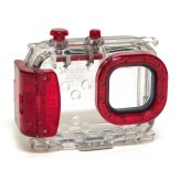Caisson sous-marin universel pour appareils photo compacts Seashell SS-2 Rouge
