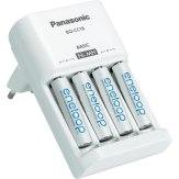Chargeur Panasonic Eneloop Basic + 4 piles AAA