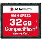 Carte mémoire Compact Flash AgfaPhoto 32GB High Speed 300x M