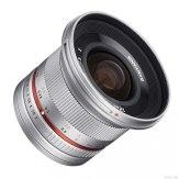 Objectif Samyang 12mm f/2.0 NCS CS Sony E Argenté