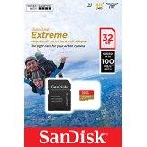 Carte mémoire microSDHC SanDisk 32GB ActionSC Extreme