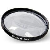 Filtre macro +4 58mm