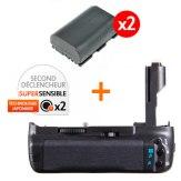 Kit grip d'alimentation Gloxy GX-E9 + 2 Batteries LP-E6