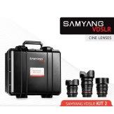Kit Samyang Cinéma 14mm, 35mm, 85mm Canon