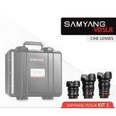Samyang Kit Cinéma 14mm, 24mm, 35mm Sony A