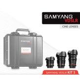 Samyang Kit Cinéma 8mm, 16mm, 35mm Sony