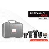 Kit Cinéma 14mm, 24mm, 35mm, 85mm, 500mm Sony E