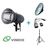 Visico Kit Flash Studio VL-400 Plus + Support + Beauty Dish + Déclencheur VC-816