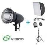 Visico Kit Flash Studio VL-400 Plus + Support + Softbox 50x70cm + Déclencheur VC-816