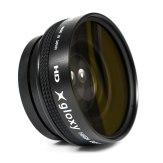 Lentille Grand Angle Gloxy 0.45x 58mm avec Macro