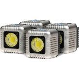 Kit de 4x torches Lume Cube argentées