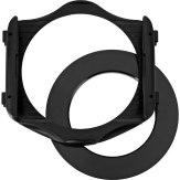 Porte-filtres universel type P et bague d'adaptation 77mm