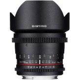 Objectif Samyang 10mm VDSLR T3.1 NCS CS pour Canon MKII