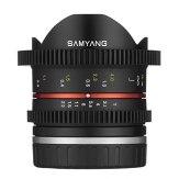 Objetivo Samyang VDSLR 8mm T3.1 UMC CSC Sony E