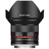 Samyang Objectif 12mm f/2.0 NCS CS Canon M Noir