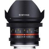 Objectif Samyang 12mm V-DSLR T2.2 NCS CS Sony E Noir