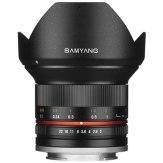 Objectif Samyang 12mm f/2.0 NCS CS Fuji X Noir
