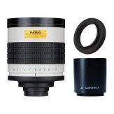 Super téléobjectif Samyang 800-1600mm f/8 MC IF + Multiplicateur 2x