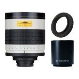 Super téléobjectif Samyang 800-1600mm f/8 MC IF Canon + Multiplicateur 2x