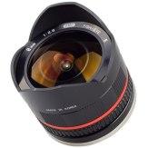 Objectif Samyang 8mm f/2.8 Fish-eye Sony NEX noir