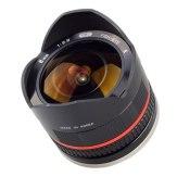 Objectif Samyang 8mm f/2.8 Fish-eye Fuji X Noir