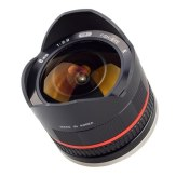 Objectif Samyang 8mm f/2.8 Fish-eye NX noir