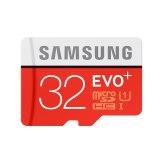 Mémoire Samsung microSDHC 32GB Evo Plus Classe 10 + adaptateur