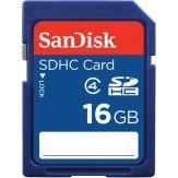 Mémoire SanDisk SDHC Classe 4 16GB