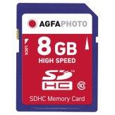 Carte mémoire AgfaPhoto SDHC 8GB Classe 10 MLC