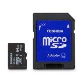 Carte mémoire Toshiba MicroSDXC 64GB High Speed Professional UHS I