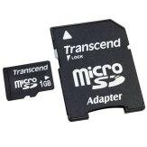 Mémoire Transcend MicroSD Transflash 1GB