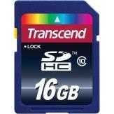 Carte mémoire Transcend SDHC 16GB Classe 10