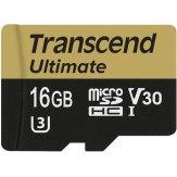Carte mémoire microSDHC Transcend 16GB UHS-I MLC U3M