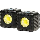 Kit x2 Torches LED Lume Cube Noir