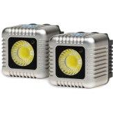 Kit x2 torches Lume Cube de couleur argent