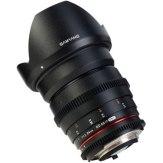 Objectif Samyang 24mm T1.5 ED AS IF UMC VDSLR Canon