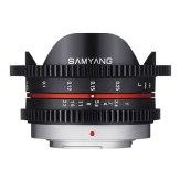 Objectif Samyang VDSLR 7.5mm T3.8 Micro 4/3