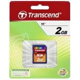Carte mémoire SD Transcend 2GB