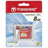 Mémoire Compact Flash Transcend 8GB MLC 133X