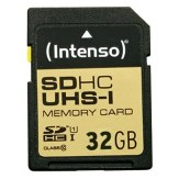 Carte mémoire Intenso SDHC 32GB Classe 10 UHS-I