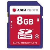 Carte mémoire SDHC AgfaPhoto 8GB