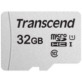 Transcend Carte mémoire microSDHC 32GB 300S