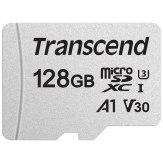 Transcend Carte Mémoire microSDXC 128 GB 300S