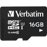 Carte mémoire microSDHC Verbatim 16GB UHS-I