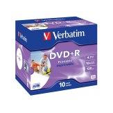 1x10 Verbatim DVD+R 4.7 GB 16x Speed