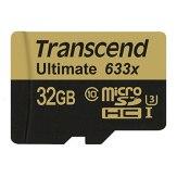 Carte mémoire microSDHC Transcend 32GB UHS-I MLC U3M